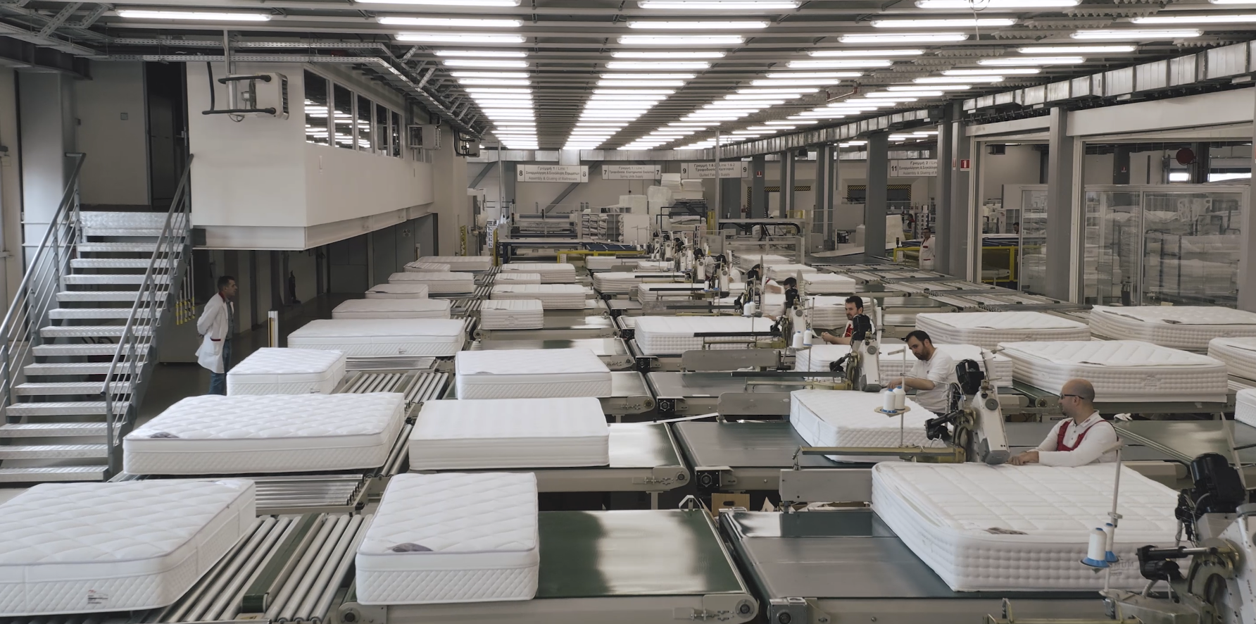 State-of-the-art production facilities